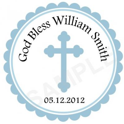 Baptism Stickers