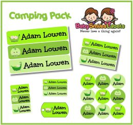CampingPack - Cute Peas
