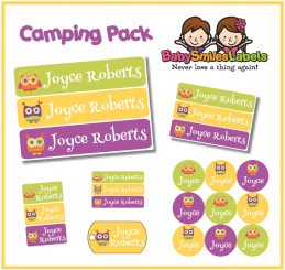 CampingPack - Funky Owls