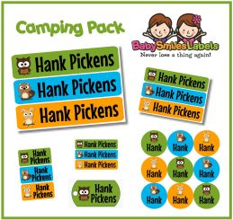 CampingPack - Woodland Animals