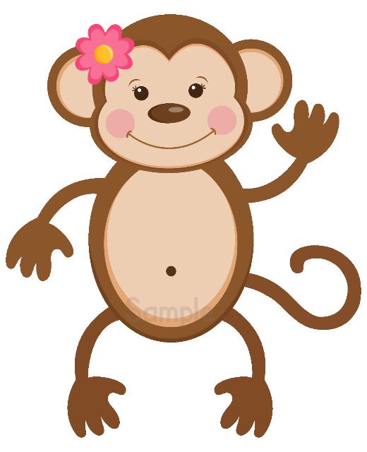 GirlMonkeystanding | Baby Smiles Labels