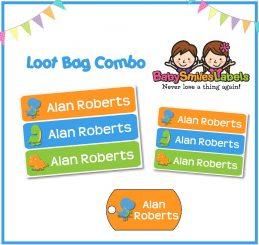 Loot Bag Combo - Adorable Dino