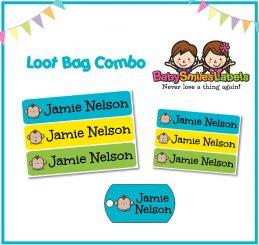 Loot Bag Combo - Adorable Monkey Boy