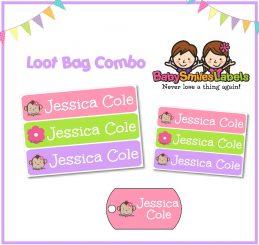 Loot Bag Combo - Adorable Monkey Girl