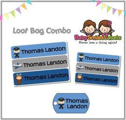 Loot Bag Combo - Airplane Pilot