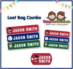 Loot Bag Combo - Baseball
