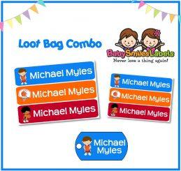 Loot Bag Combo - Basketball