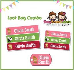 Loot Bag Combo - Cute Animal Family