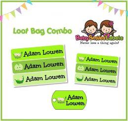Loot Bag Combo - Cute Peas