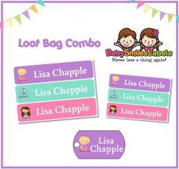 Loot Bag Combo - Cute Princess