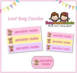 Loot Bag Combo - Cutie Bear
