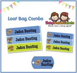 Loot Bag Combo - Cutie Dog Boy