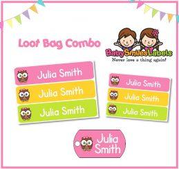 Loot Bag Combo - Cutie Owl