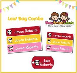 Loot Bag Combo - Cutie Panda