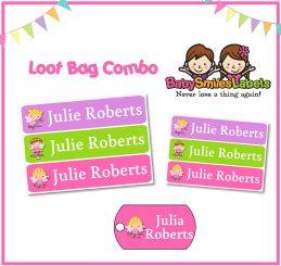 Loot Bag Combo - Fairy Girl