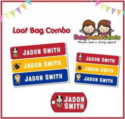 Loot Bag Combo - Football
