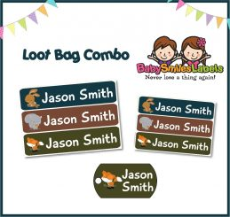 Loot Bag Combo - Forest Animals