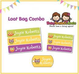 Loot Bag Combo - Funky Owl