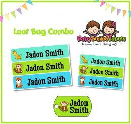 Loot Bag Combo - Happy Safari