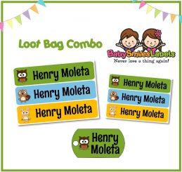 Loot Bag Combo - Woodland Friends