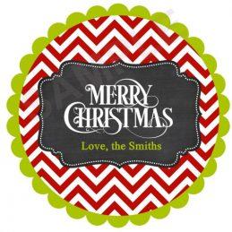 Merry Xmas Chevron