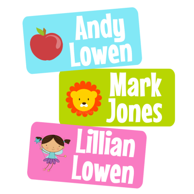 Design Your Own Peel Stick Clothing Tag Labels Baby