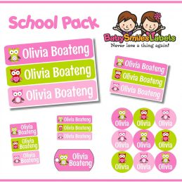 SchoolPack -  Adorable Owl Girl