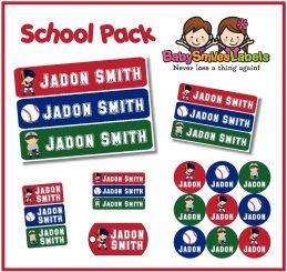 SchoolPack -  Baseball Allstars