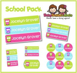 SchoolPack - Cute Owl Girl