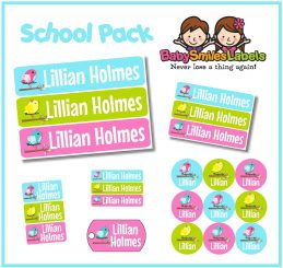 School & Daycare Label Packs