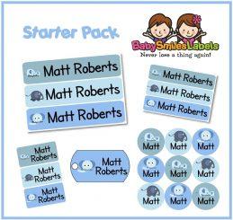 StarterPack1 - Baby Blue Elephant