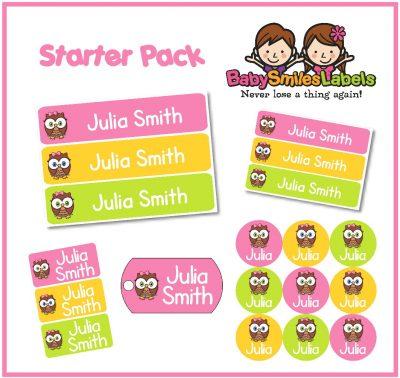 Starter Label Packs