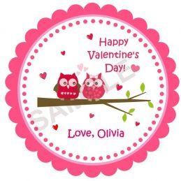 Valentine Day Lover Owls