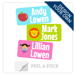 Design Your Own Peel & Stick Clothing Labels