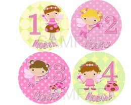Alice - Lil Cute Fairies Monthly Photo Stickers