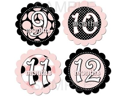 Angelina - Ooh La La Paris Monthly Photo Stickers