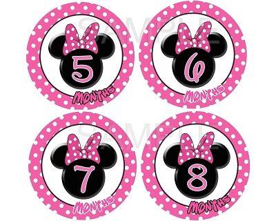 Kira - Sweet Minnie Monthly Photo Stickers