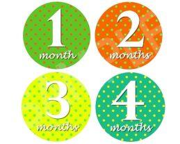 Joseph - Happy Life Monthly Photo Stickers