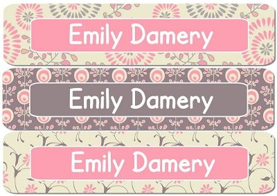Emily Rectangle Personalized Stickers