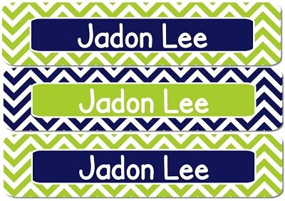 Brent Rectangle Personalized Stickers