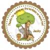 Jungle Safari Personalized Stickers