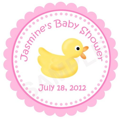 Baby Ducks Personalized Stickers