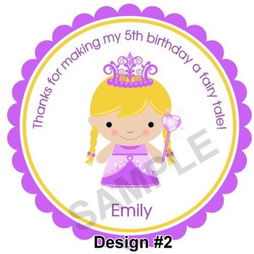 My Princess Personalized Stickers
