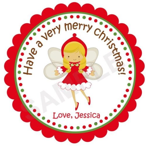 Angel Personalized Stickers
